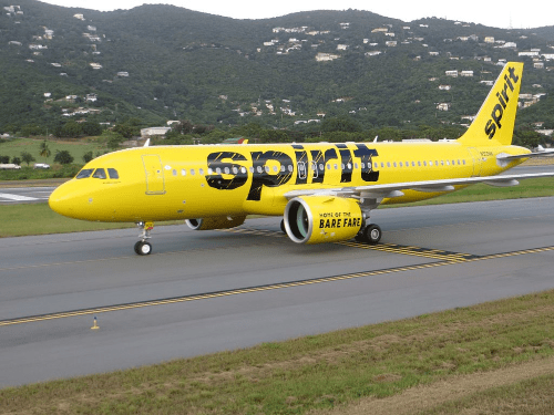 spirit airlines military discount