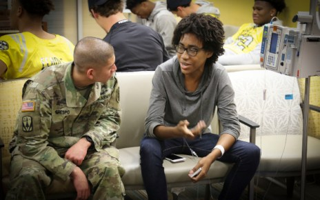 Visiting An Army Recruiter