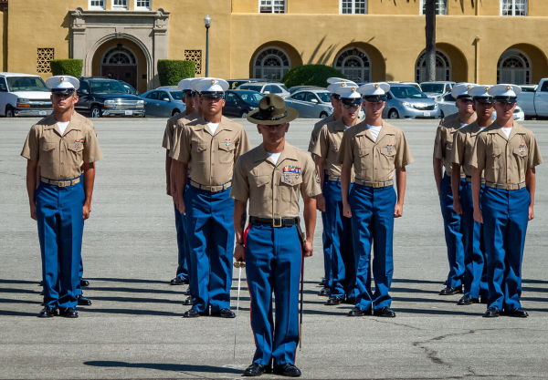 marine corps graduation