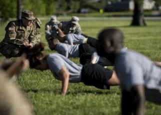 workout plan for basic training