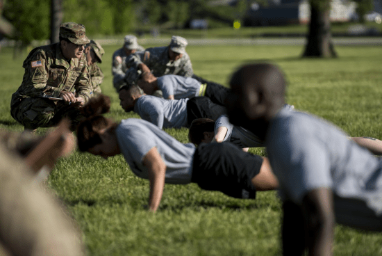 workout plan for basic training