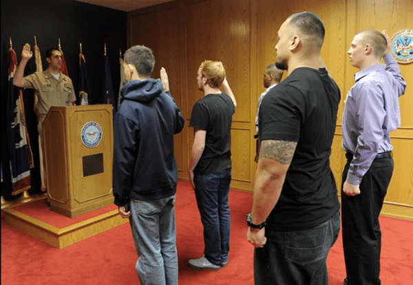 MEPS Oath of Enlistment