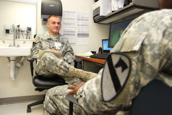 joining the military with mental illness