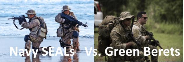 navy seals vs green berets