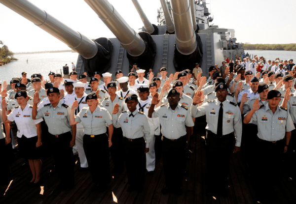 Navy Bonuses for those Reenlisting in the Navy