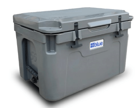 blue military coolers