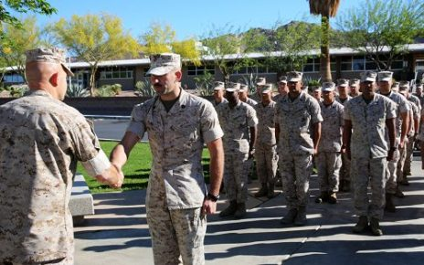 Marine earns meritorious promotion