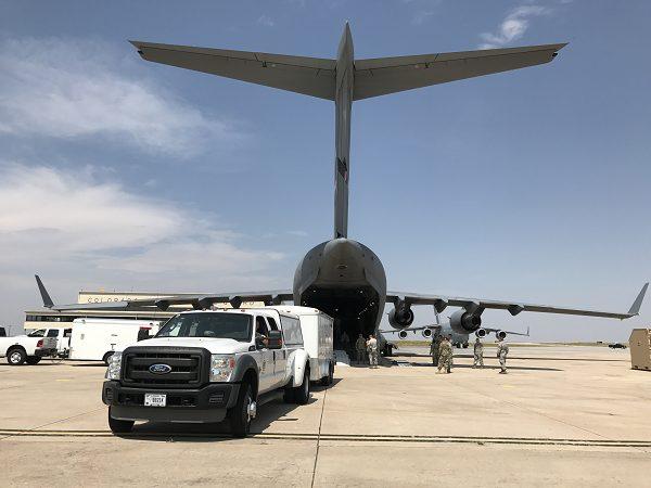 National Guard deploys life-saving assets to aid Hurricane Harvey response
