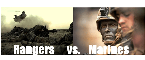 army rangers vs marines