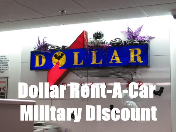 dollar rent a car military discount