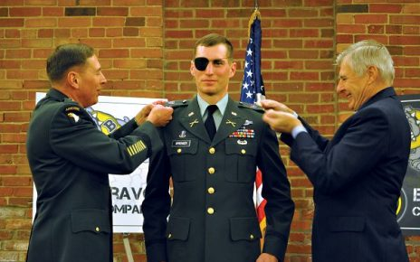 soldier receives promotion to second lieutenant