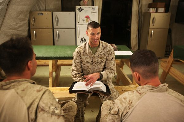 Chaplain continues his mission with military bible verses
