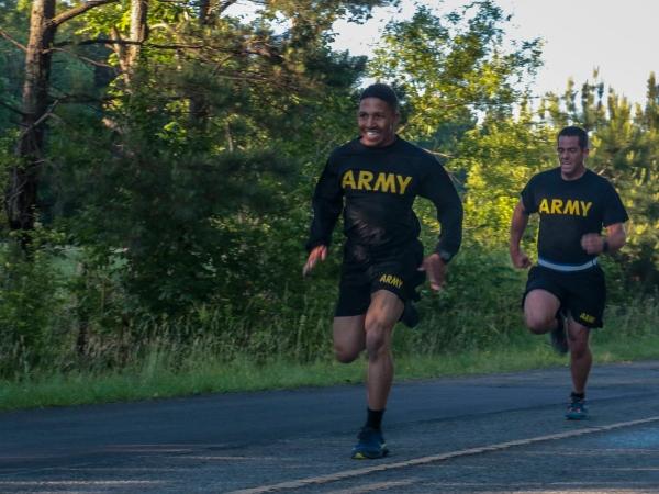 army 2 mile run