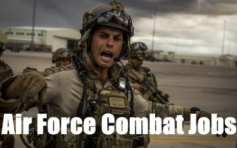 combat jobs in the us air force