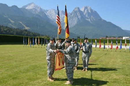 USAG Garmisch military base in germany