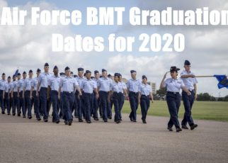air force basic training graduation dates for 2020