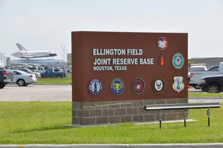 ellington field joint reserve base in texas