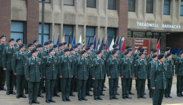 fort benning graduation for infantry