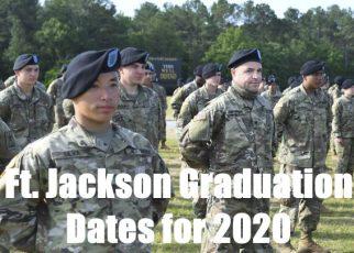 fort jackson basic training graduation dates for 2020