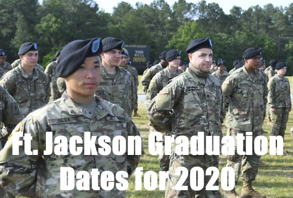 fort jackson basic training graduation dates for 2020