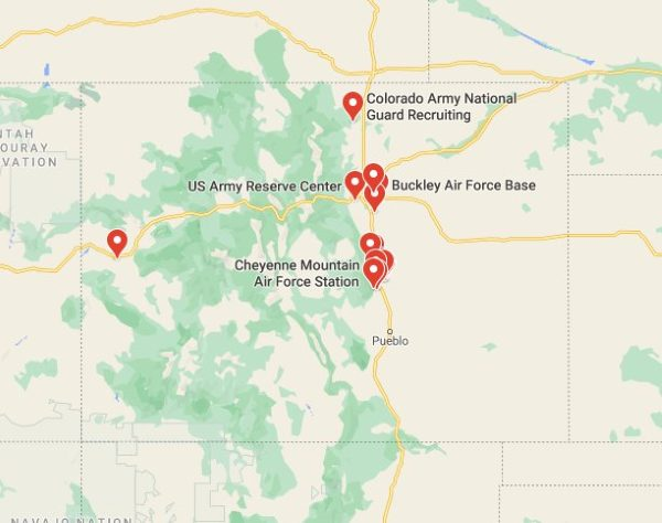 military bases in colorado