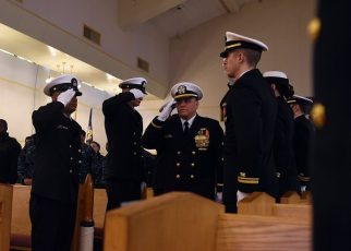 Officer receives honors at retirement ceremony