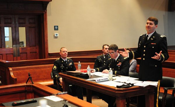 a court martial could lead to a discharge