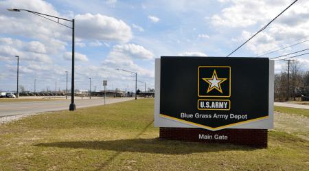blue grass army depot