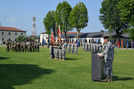 caserma ederle us army base in italy