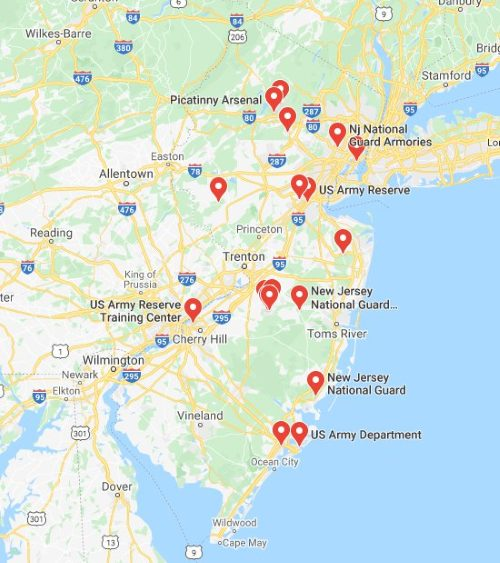 military bases in new jersey