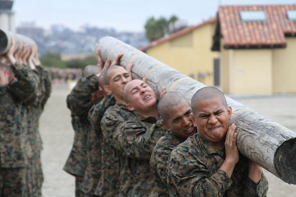 marine corps boot camp schedule