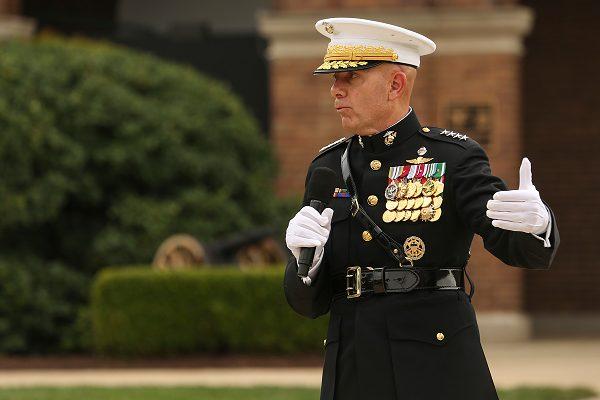 Commandant of the Marine Corps Gen. David H. Berger Marines Chain of Command