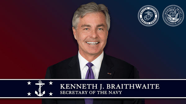 Secretary of the Navy Chain of Command