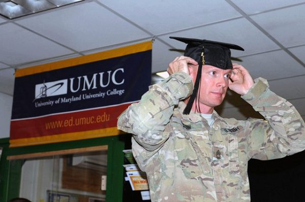 Soldiers earn degrees with the ConAP and the Voluntary Education Partnership