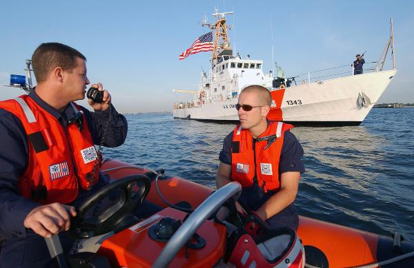 coast guard combat