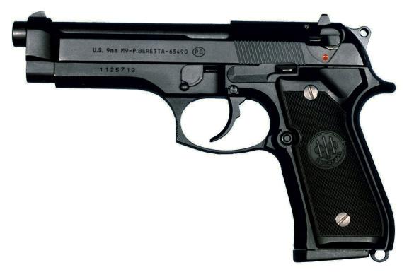 handguns used by army rangers