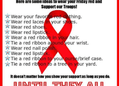 red friday meaning