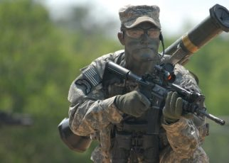 us army ranger weapons