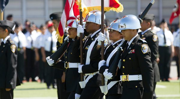 Oakland Military Institute is one of many military schools in California