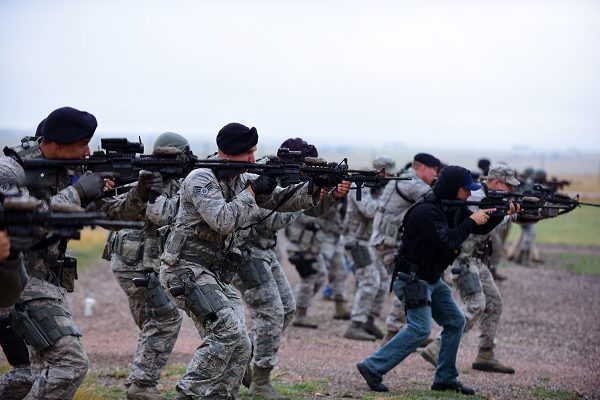 Security Forces in Training After Basic Training