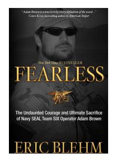 fearless eric blehm - navy seal books
