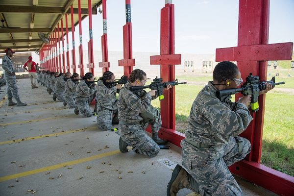 Air Force requirments lead to new recruit training