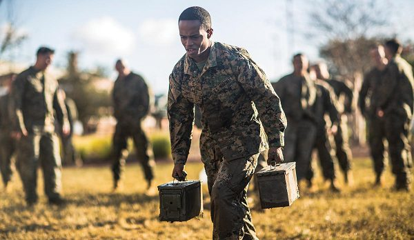 Marine Corps requirements include fitness standards