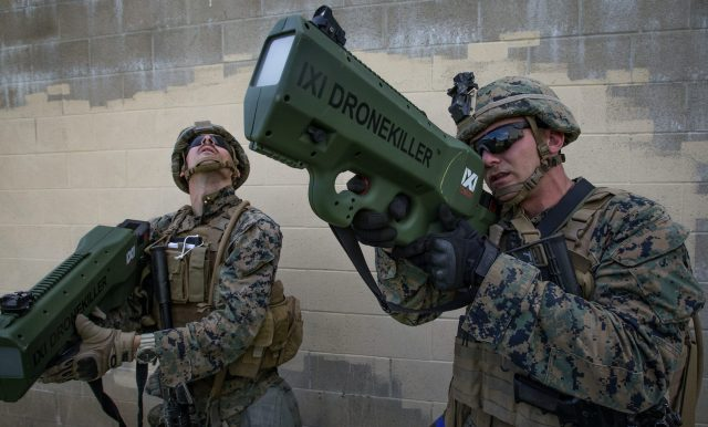 Navy Vs. Marines The Marines work to keep up with technology