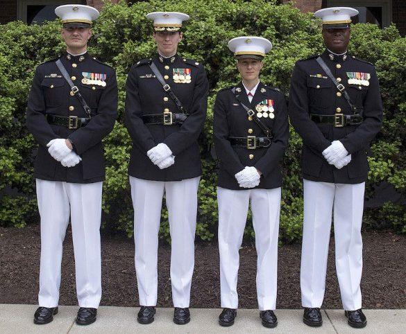 marine officer reserves pay