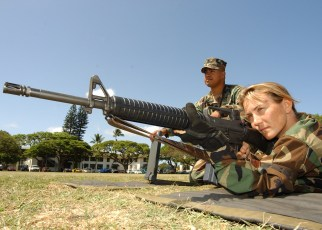 navy rifle and pistol qualification