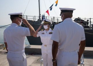 Before you work your way up the chain of command, you must first meet Navy Requirements for enlistment