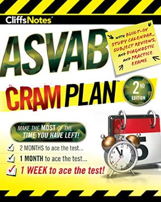 asvab cram plan cliffs notes