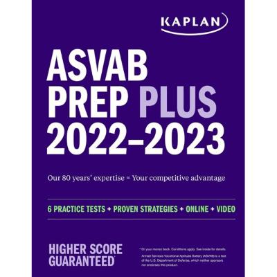 kaplan asvab prep plus asvab study guide