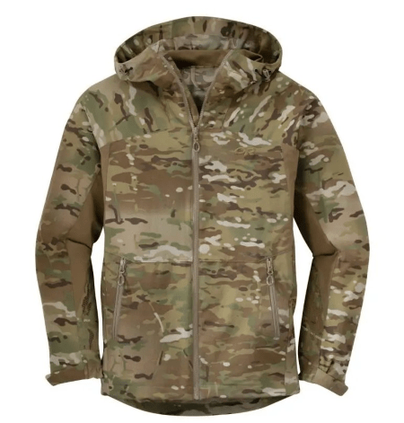 obsidian hooded tactical jacket
